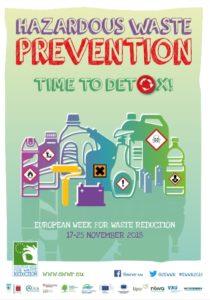 Hazardous waste prevention flyer