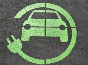 electric car symbol