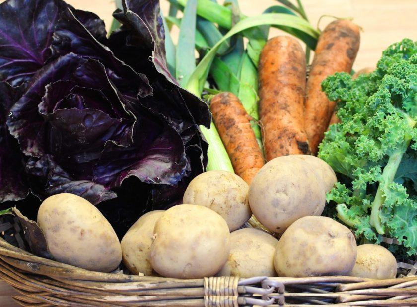 greener kirkcaldy veg basket
