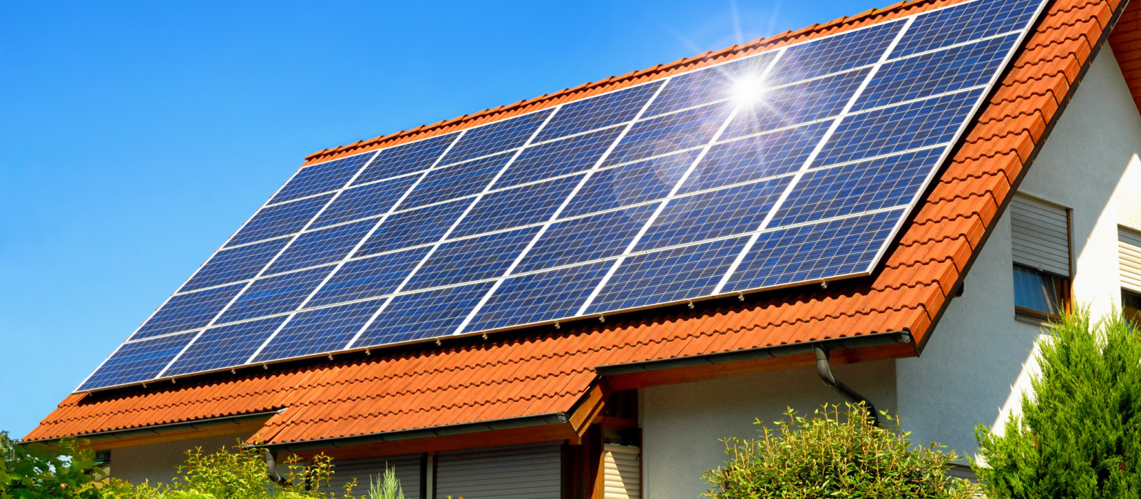 energy advice - solar panel roof