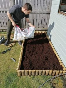 lay out compost