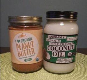 Peanut butter & coconut oil
