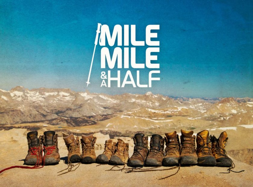 mile mile and a half poster