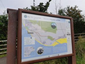 Kincardine Coastal Path Map