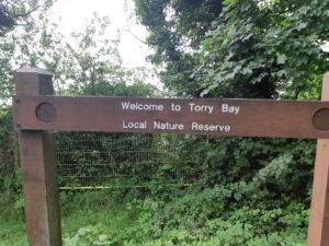 Torrey Bay sign