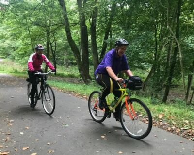 two people cycling - reasons to cycle