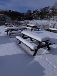 Snow at Ravenscraig in February 3