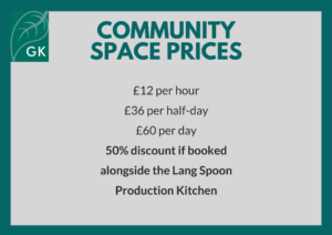 community space prices