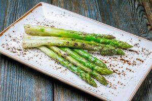 Asparagus on side