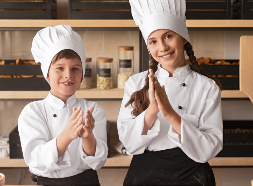 kids preparing food - introducing kids to cooking
