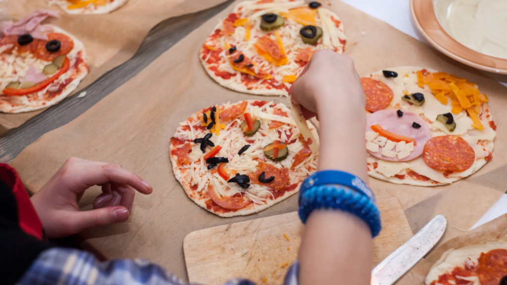 pizza - kids cooking club